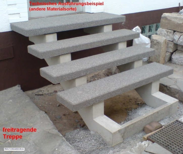 treppen au en beton hausidee. Black Bedroom Furniture Sets. Home Design Ideas