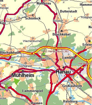 Hanau Karte Link Zum Ort Www Focht Beton De