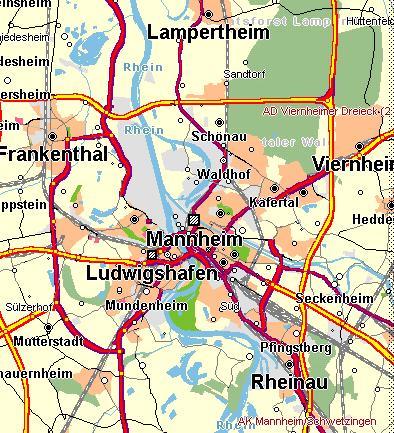 Mannheim Karte Link Zum Ort Www Focht Beton De